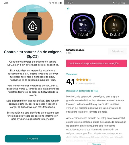 Fitbit Sense Versa 3 Analisis Mexico Review Medicion Oxigeno Sangre Spo2
