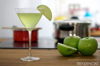 Cócteles de San Patricio: Martini de manzana