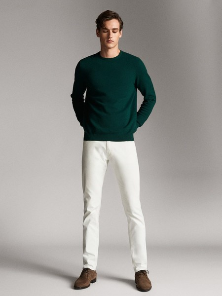 Verde Esmeralda El Color Que Massimo Dutti Convierte En Una Joya Para Llevar En Todos Nuestros Looks