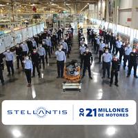 Stellantis México celebra 21 millones de motores producidos en el estado de Coahuila
