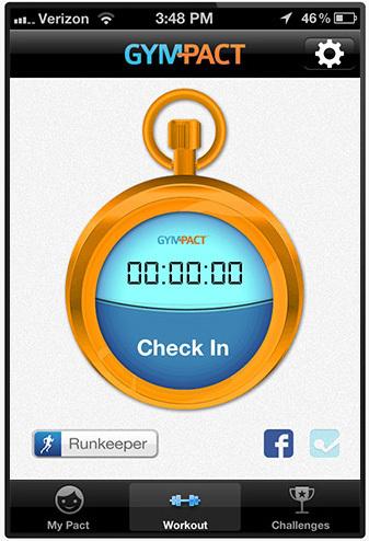gympact runkeeper