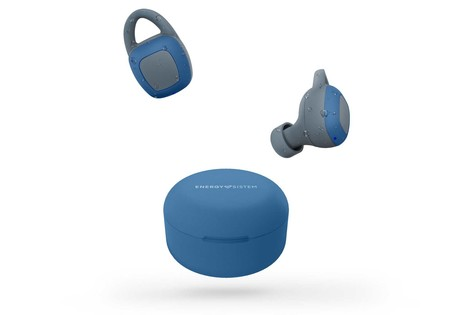 Earphones Sport 6 True Wireless de Energy Sistem: auriculares Bluetooth, resistentes al agua y con hasta cinco horas de autonomía