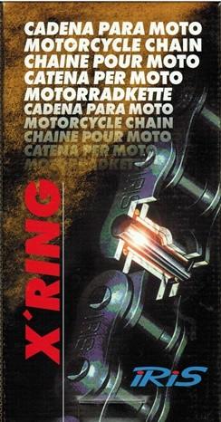 Gama de cadenas X'Ring de IRIS Racing Chains