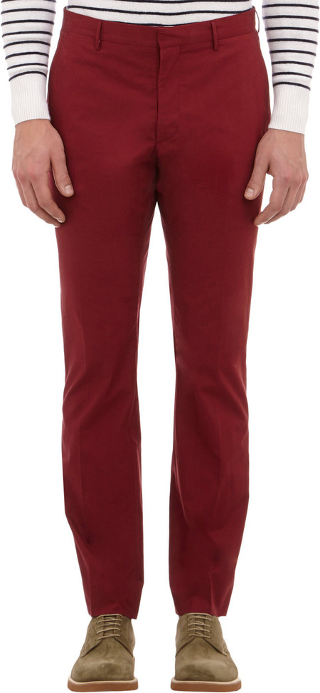 Burberry London pantalon burdeos