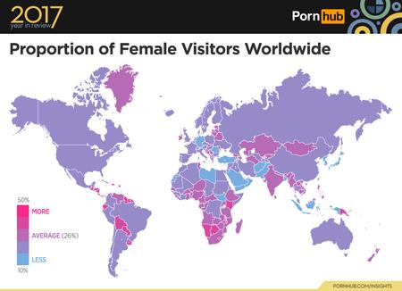 estadísticas pornhub