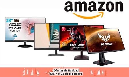 BenQ, Dell, HP, Millenium, Ozone o Samsung: 9 monitores en oferta en Amazon para regalar por Navidad