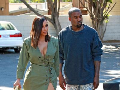 La sahariana de YSL reinterpretada por Balmain y lucida por Kim Kardashian con su personal estilo