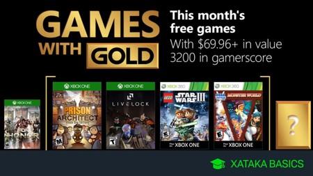 Juegos Xbox Gold Gratis Para Xbox One Y 360 De Septiembre 2018