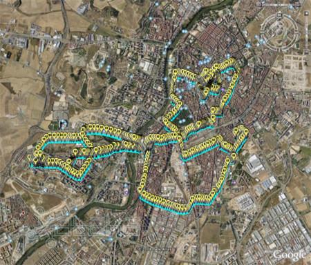 Holux en Google Earth