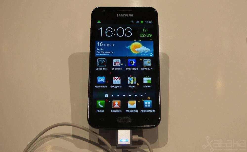 Foto de Samsung Galaxy S2 LTE en IFA 2011 (1/3)