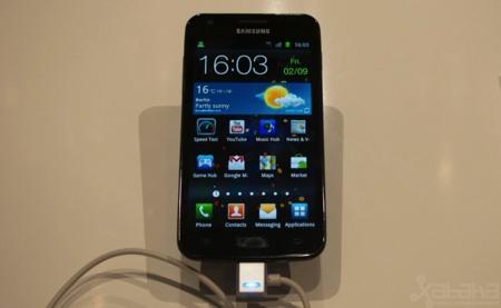 Samsung Galaxy S2 LTE en IFA 2011