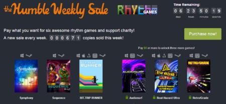 El nuevo Humble Weekly Sale se llena de juegos de ritmo