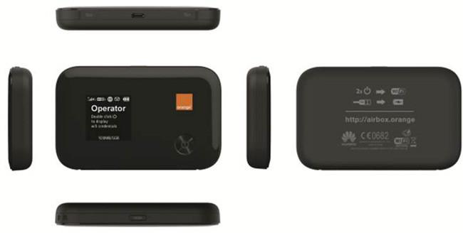 orange airbox con el 4g a todas partes para dispositivos wifi. Black Bedroom Furniture Sets. Home Design Ideas