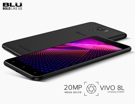 BLU Vivo 8L: un móvil de generosa batería que sorprende con su cámara frontal de 20 megapíxeles