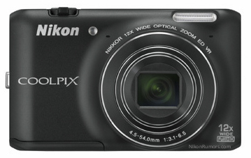 Nikon Coolpix S800c Android cámara frontal
