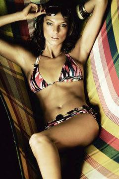 Daria Werbowy imagen de H&M