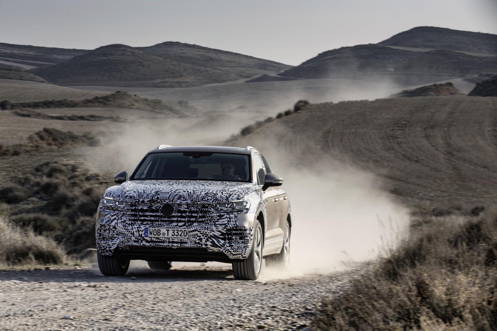 Foto de Volkswagen Touareg 2019 (teasers) (5/10)