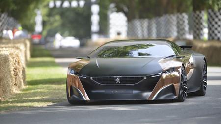 El Peugeot Onyx se pasea por el festival de Goodwood