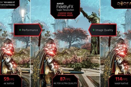 AMD FidelityFX Super Resolution ya está disponible: tarjetas gráficas compatibles, juegos compatibles y cómo funciona la competencia de DLSS