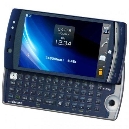 Fujitsu LOOX F-07C el primer movil con Atom y doble sistema operativo