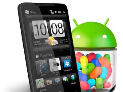 HTC HD2, el teléfono inmortal recibe Android Jelly Bean 4.1 de forma no oficial