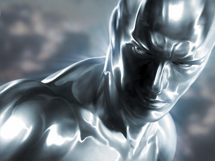 Primera imagen de Silver Surfer en la secuela de 'Los 4 Fantásticos'