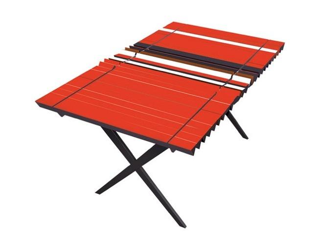 Foto de Original sistema para tener una mesa tricolor (1/3)