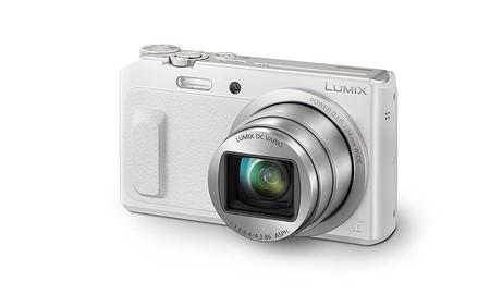 Si buscas cámara compacta a buen precio, en MediaMarkt tienes la Panasonic Lumix DMC-TZ57 en color blanco por 169 euros