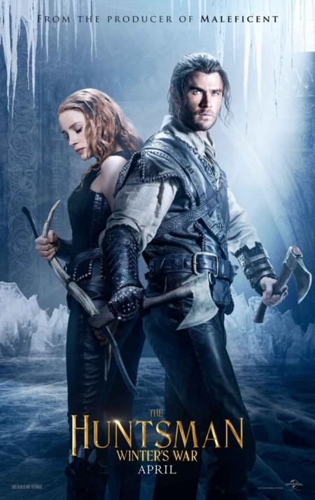 Nuevo cartel de El Cazador y La Reina de Hielo