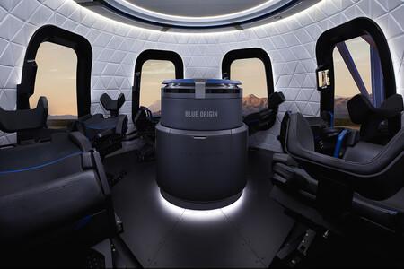 Blueorigin Gallery Crew Capsule Interior