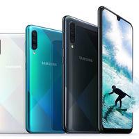 Samsung Galaxy A50s: la gama media se desdobla con extra de megapíxeles y un nuevo diseño
