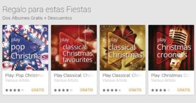 Google Play le da color a tus fiestas regalando varios discos navideños