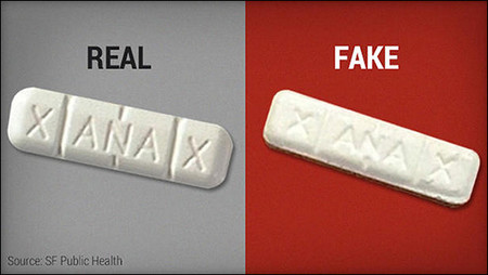 Fake Xanax With Fentanyl