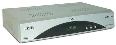 ADC 730 AXIL, sintonizador dual de TDT y satélite