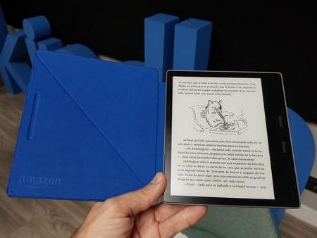 Kindle con tapa