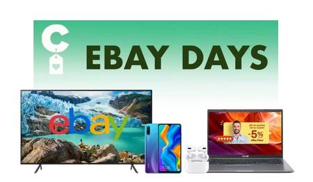 Mejores ofertas en los eBay Days: móviles Huawei, televisores Samsung y portátiles Asus más baratos con el cupón PEBAYDAYS