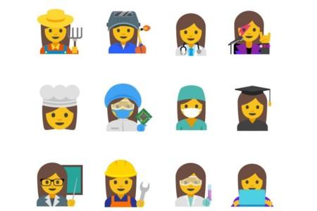 Google Emojis Femeninos