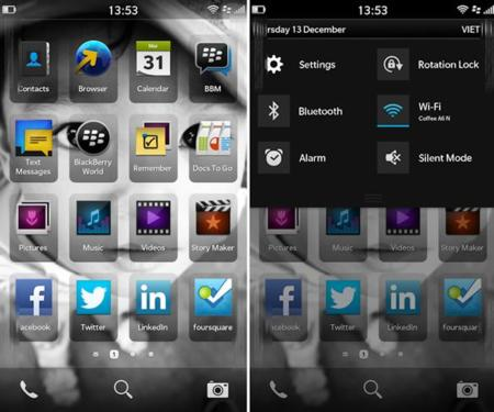 El 40% de las aplicaciones para BlackBerry 10 actuales son ejecutables de Android modificados