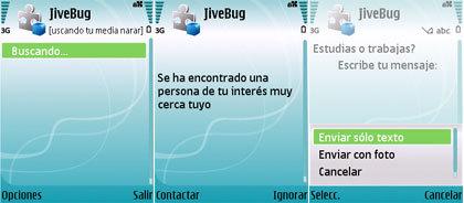 JiveBug, deja que tu móvil te enamore