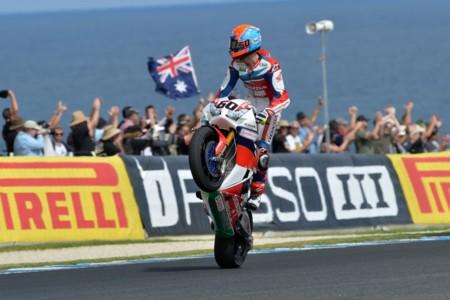 Michael Van Der Mark Superbikes Australia 2016