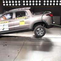 Latin NCAP le otorga cuatro estrellas al Fiat Toro con dos airbags