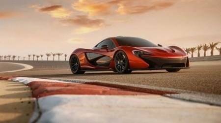 McLaren P1 naranja