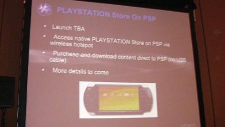 GDC 2008: Sony confirma acceso a la PlayStation Store desde PSP