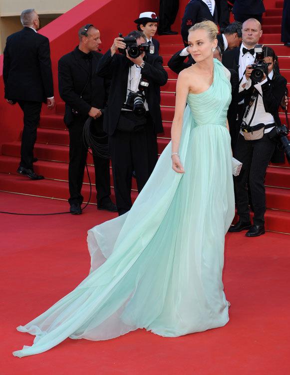 Diane Kruger en el festival deCannes 2012