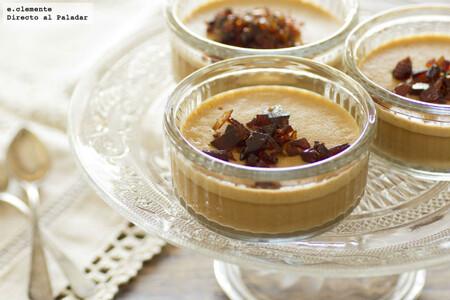 Crema de caramelo con praliné: receta de postre cremoso especial para golosos