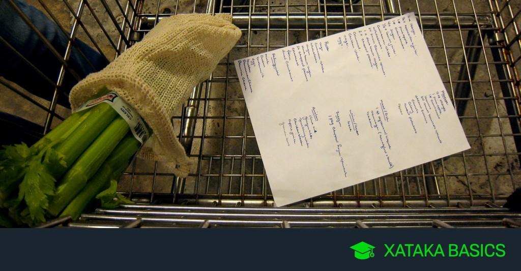 17 App para organizar y gestionar la lista de la compra