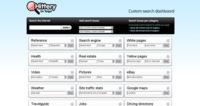 Hittery, el panel de motores de búsquedas