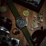 Militares, deportivos y también muy elegantes: así son los relojes en color verde que conquistarán nuestros looks este verano