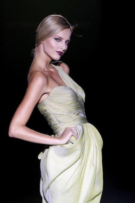 Michaela Kocianova, la verdadera reina de Cibeles Madrid Fashion Week Primavera-Verano 2012