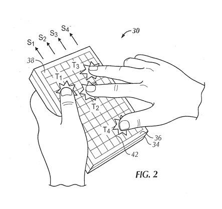 apple patente multitouch